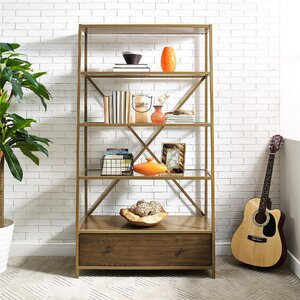 Buy Selzer Pyramid Etagere Bookcase!