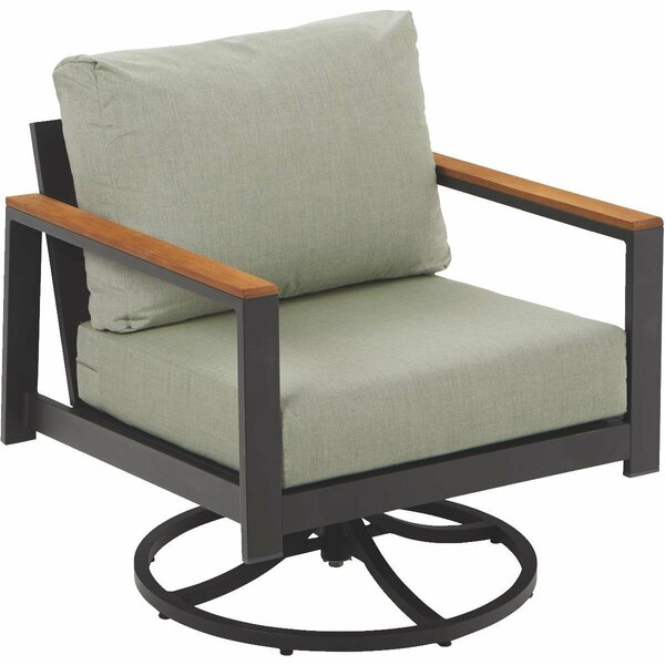 Townsend Outdoor Patio Rocking Chair With Cushion by Brayden Studio