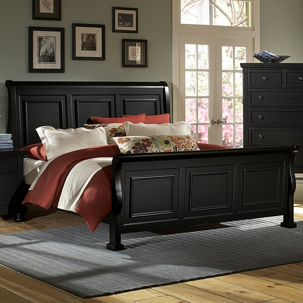 Chardon Sleigh Bed by Birch Lane™ Heritage