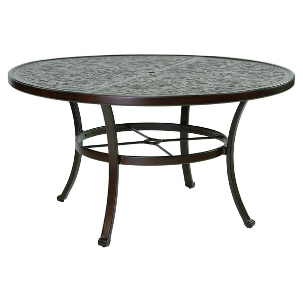 Carmela Vintage Aluminum Dining Table by Leona