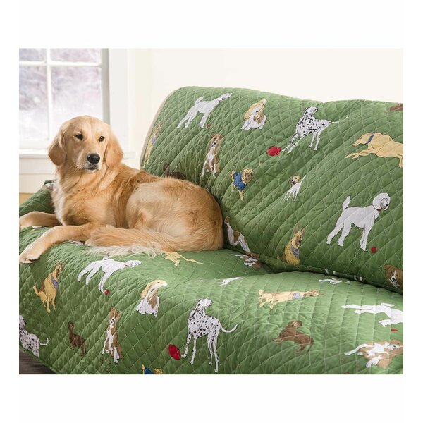 Pet Bedtime Tails Armchair Slipcover by Plow & Hearth