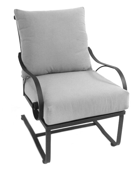 Uribe Deep Seating Chair with Cushion by Fleur De Lis Living Fleur De Lis Living