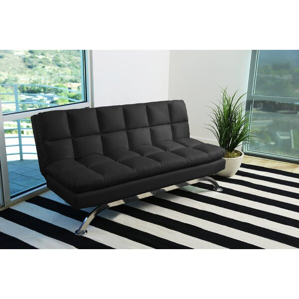 Online Review Terpstra Euro Lounger Convertible Sofa by Orren Ellis by Orren Ellis
