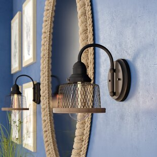 Find the perfect Murillo 1-Light Bath Sconce ByBeachcrest Home