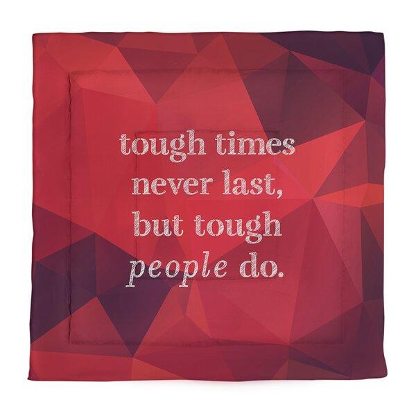 Tough Times Single ReversibleComforter