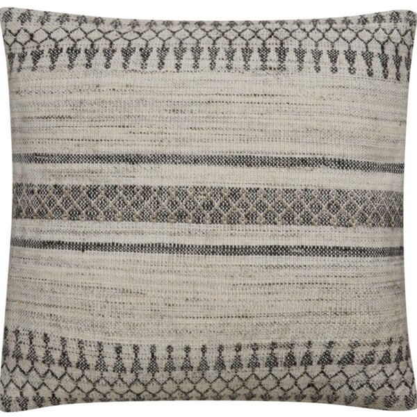 Kanye Tribal Pattern Bamboo Throw Pillow by Mistana