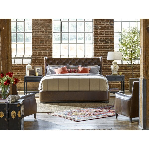 Devere Upholstered Standard Bed by Darby Home Co