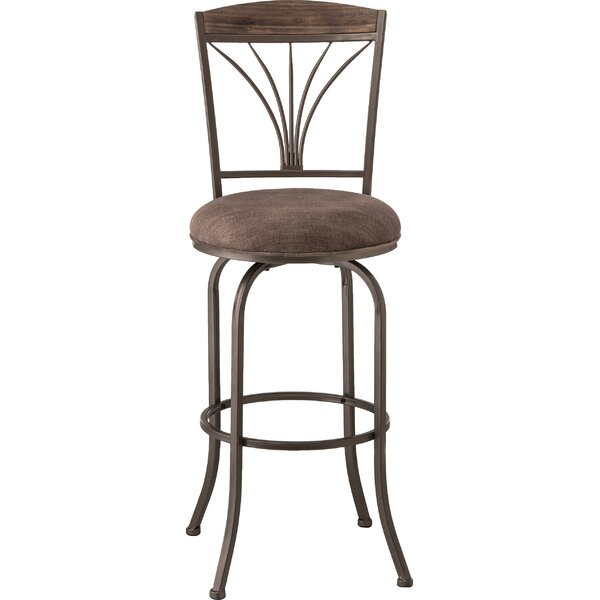 Cottingham 30 Swivel Bar Stool by Red Barrel Studio