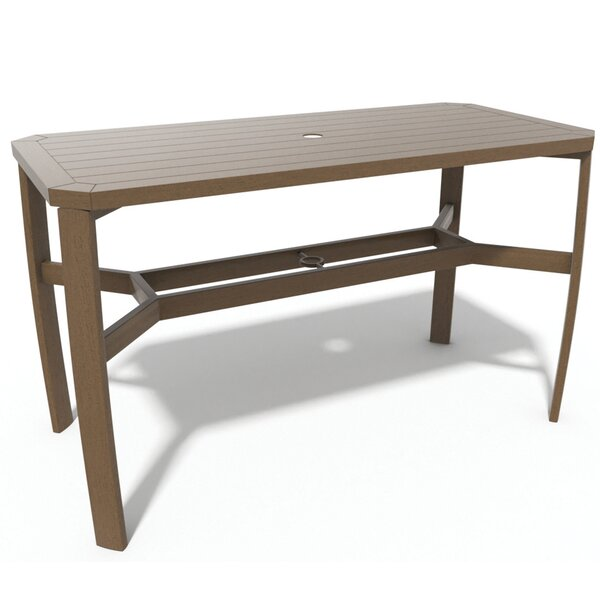 Soho Woven Balcony Table by Winston