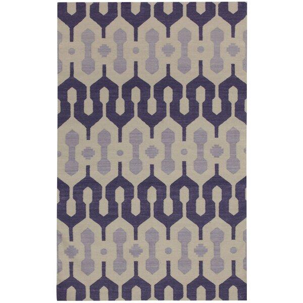 Spain Amethyst/Violet Area Rug by Genevieve Gorder Rugs