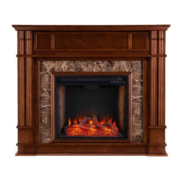 Highgate Alexa Enabled Media Fireplace By Latitude Run