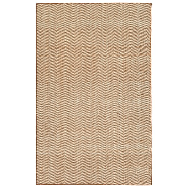 Buell Hand Woven Orange Indoor/Outdoor Area Rug by Ivy Bronx