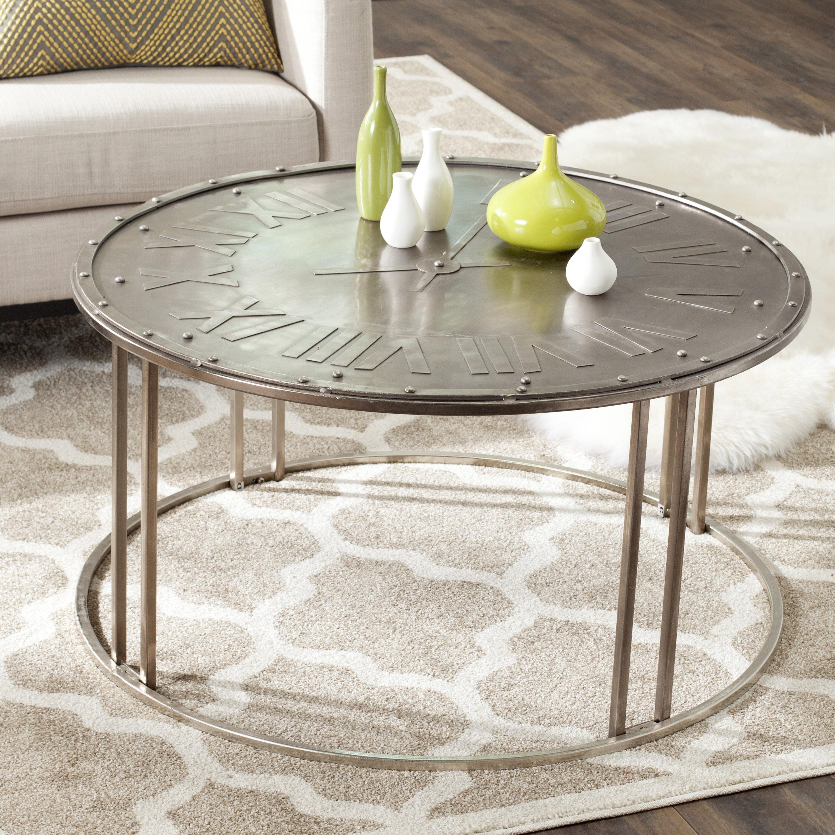 Safavieh Fox Roman Clock Coffee Table & Reviews