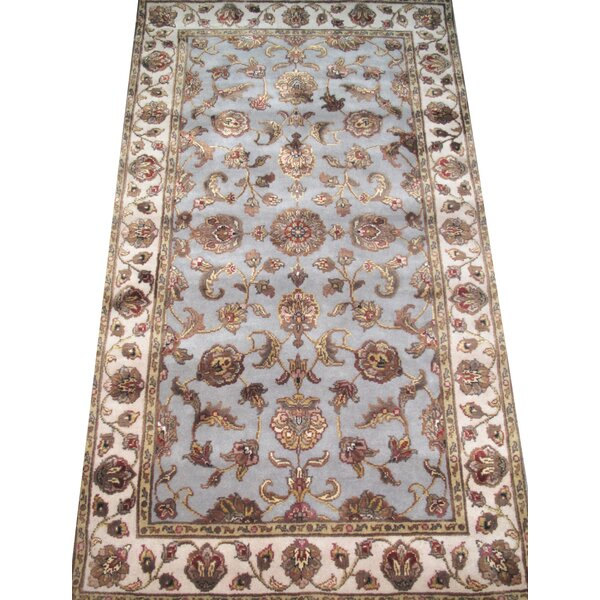 Agra Hand-Knotted Purple Area Rug by Pasargad