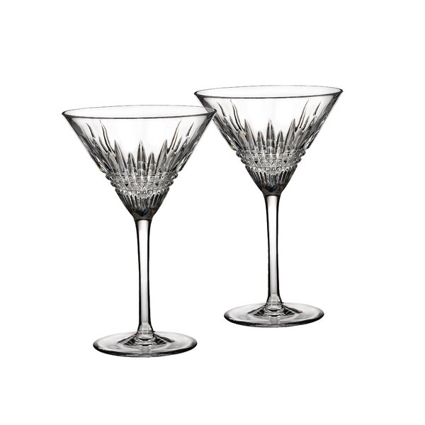 Lismore Diamond Crystal Liqueur Glass (Set of 2) by Waterford