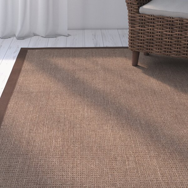 Greene Contemporary Brown Area Rug by Beachcrest Home