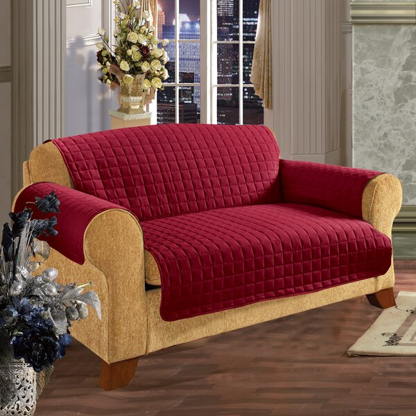 Furniture Protector Box Cushion Slipcover By Charlton Home