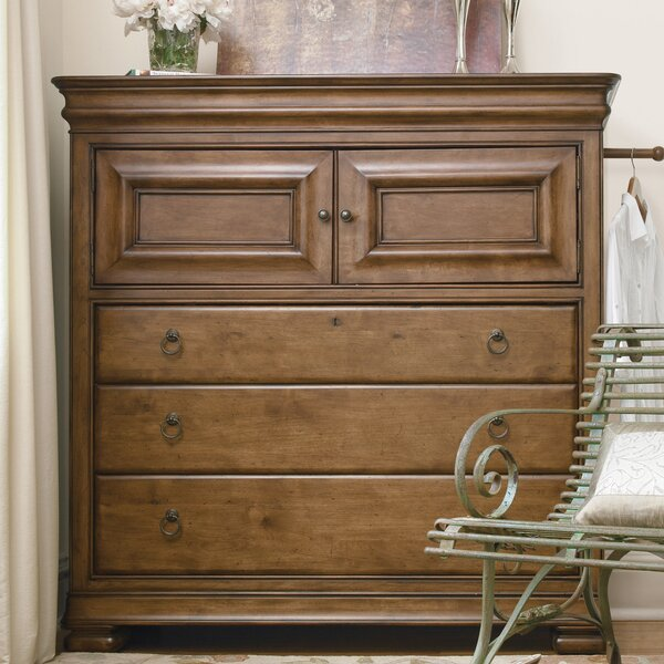 Mauritane 5 Drawer Combo dresser by World Menagerie