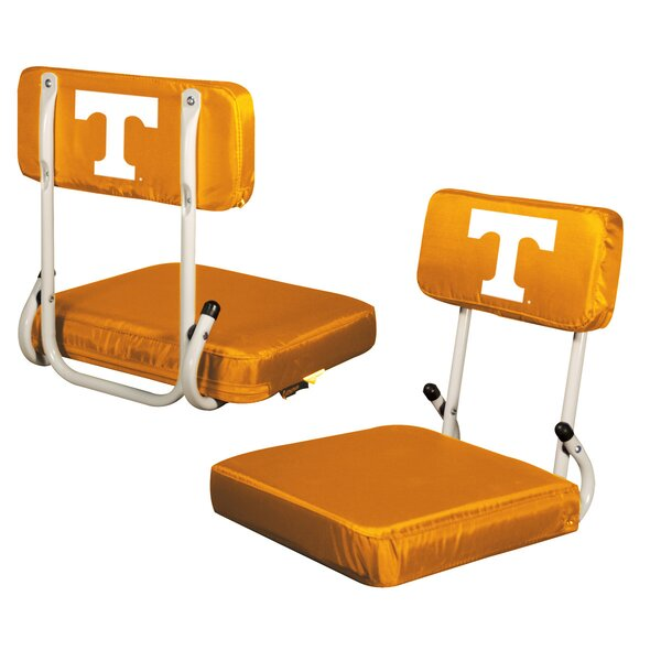 Folding Stadium Seat with Cushion by Logo Brands Logo Brands
