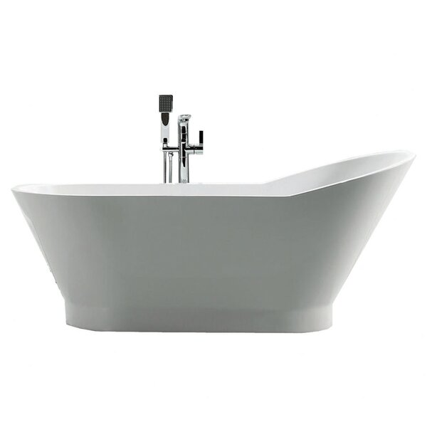 Dove 67 x 27.875 Soaking Bathtub by Jade Bath