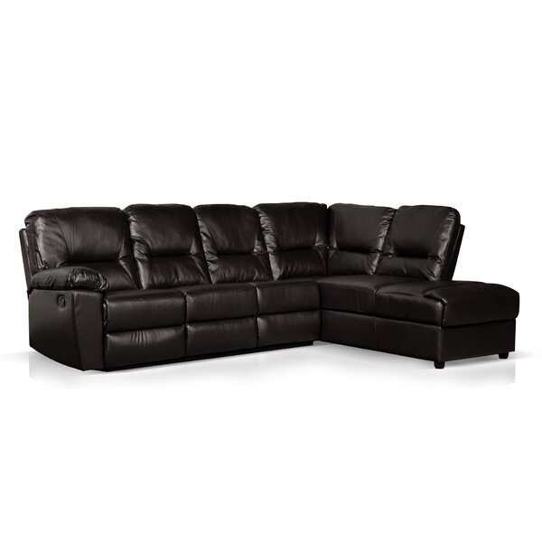 Cillia Reclining Sectional by Wildon Home ®
