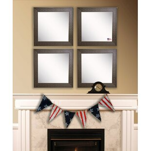 Purchase Hille Bricks Wall Mirror (Set of 4) By Winston Porter