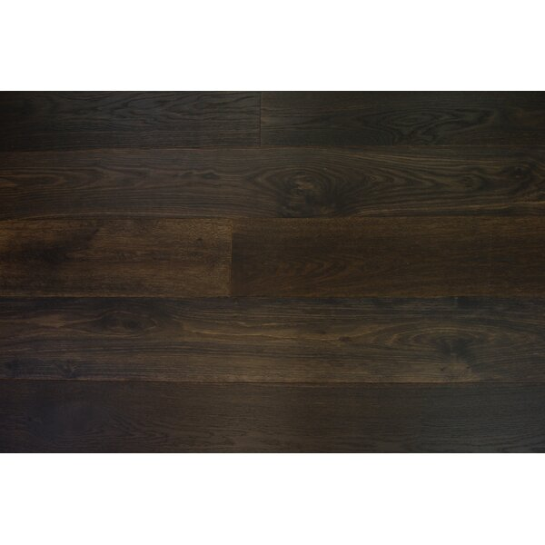 Bergen 7-1/2 Engineered Oak Hardwood Flooring in Umber by Branton Flooring Collection