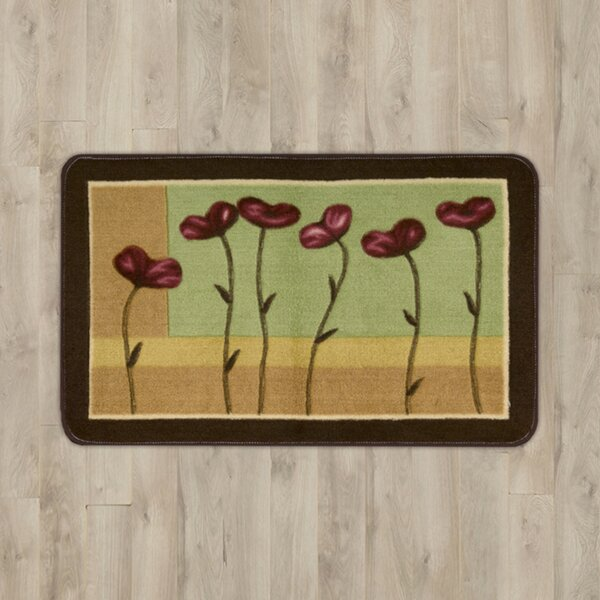 Greenmeadow Floral Area Rug by Andover Mills