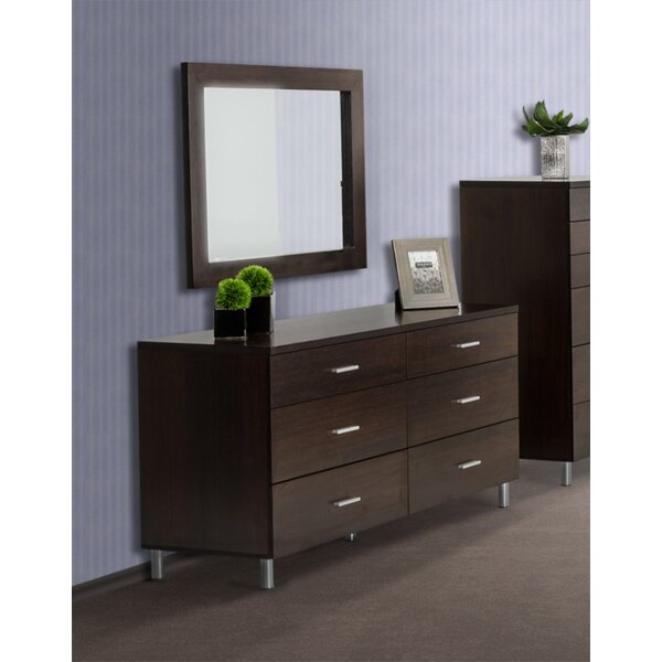 Elettra Accent Mirror by Wade Logan