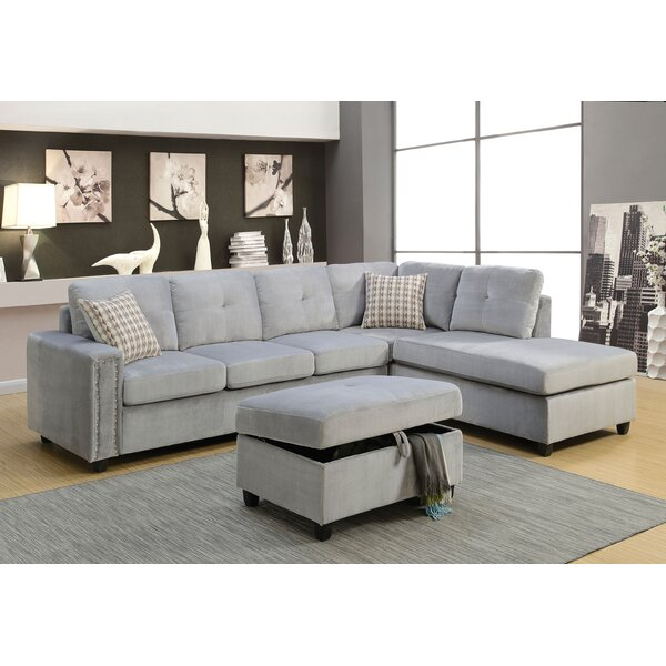Tavish Reversible Sectional by Red Barrel Studio
