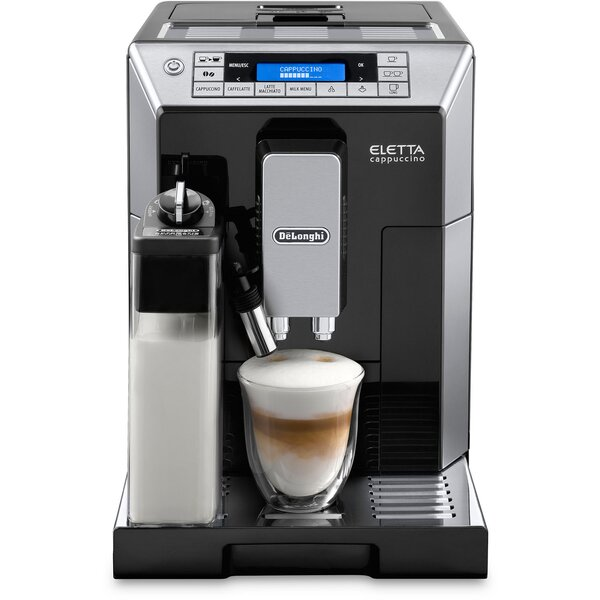 Eletta Cappucino Top with Latte Crema System by De