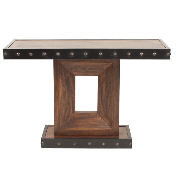 Peckham Wood Console Table By Bloomsbury Market