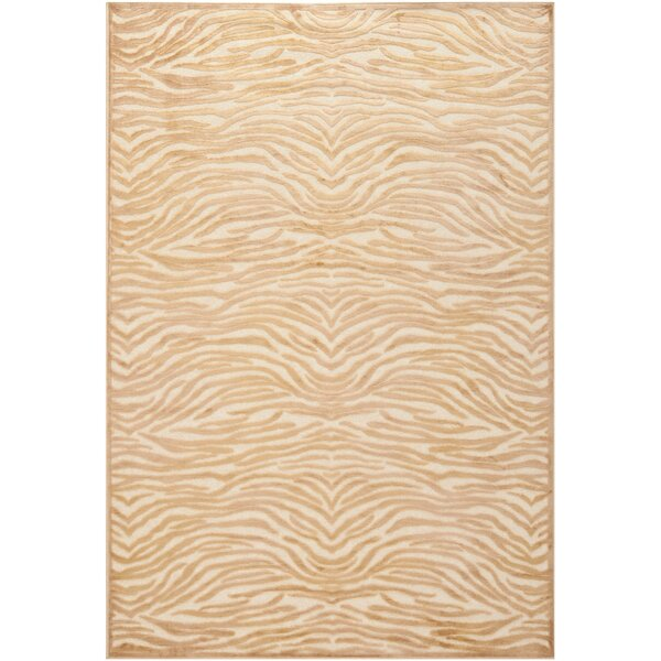 Martha Stewart Taupe / Cream Area Rug by Martha Stewart Rugs