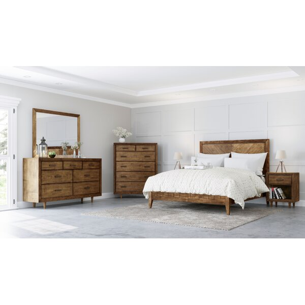 Ian Platform 6 Piece Bedroom Set by Modern Rustic Interiors