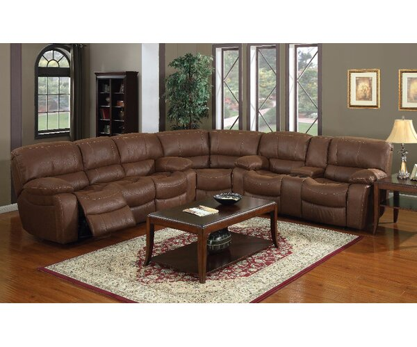 Josie Right Hand Facing Reclining Sectional