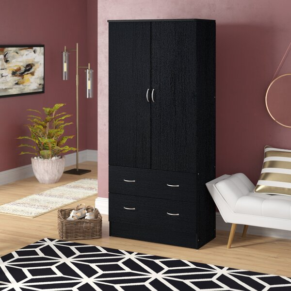 Guerrera Wardrobe Armoire by Ebern Designs