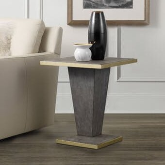 Shagreen End Table by Hooker Furniture
