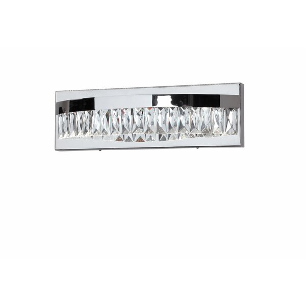 Early 1-Light LED Bath Bar by Orren Ellis