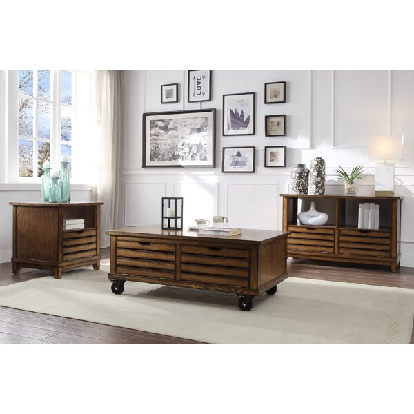 Clements 3 Piece Coffee Table Set By Loon Peak