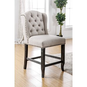 Yarmouth Transitional Dining Chair (Set of 2) Three Posts