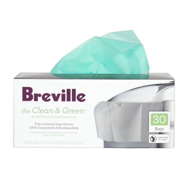 Clean and Green™ Juicer Bag (Pack of 30) by Breville