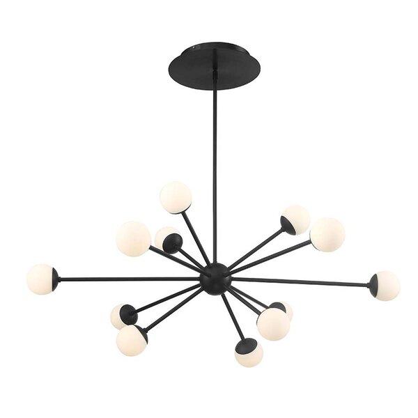 Pellston 12-Light LED Sputnik Sphere Chandelier By George Oliver