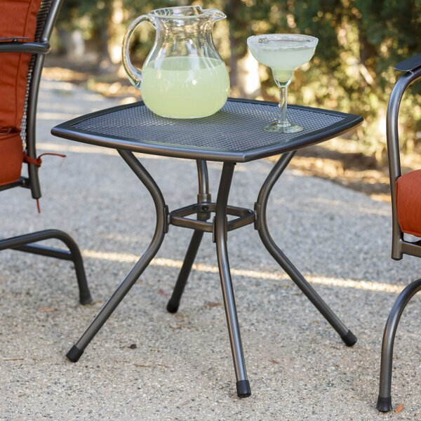 Capetown Metal Side Table by Winston Porter