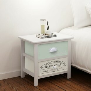 French bedside cabinets wayfair simsbury french 2 drawer bedside table set of 2 watchthetrailerfo