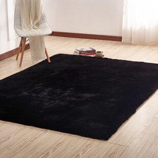 Buy luxury Affric Black Area Rug ByEverly Quinn