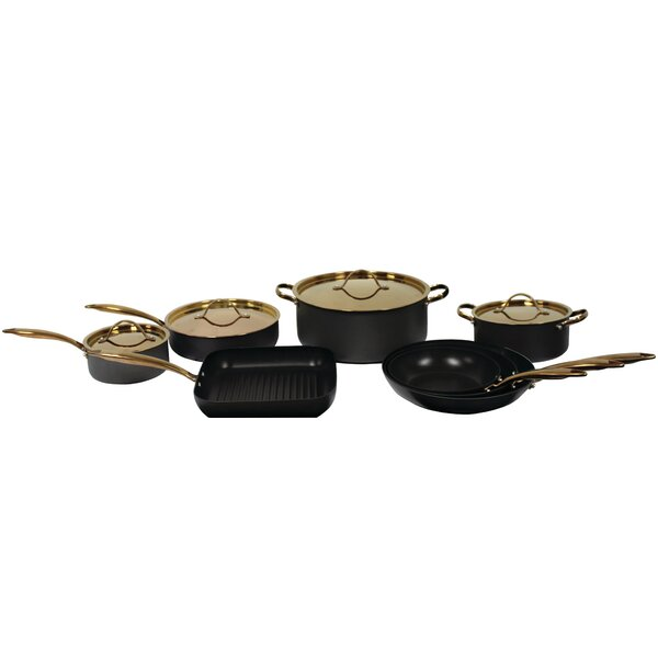 Ouro 12 Piece Deluxe Non-Stick Cookware Set by BergHOFF International