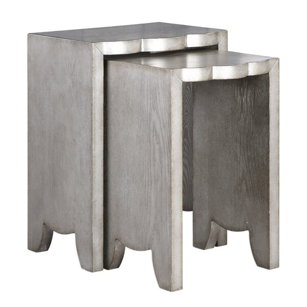 Gregory 2 Piece Nesting Tables by Mercer41