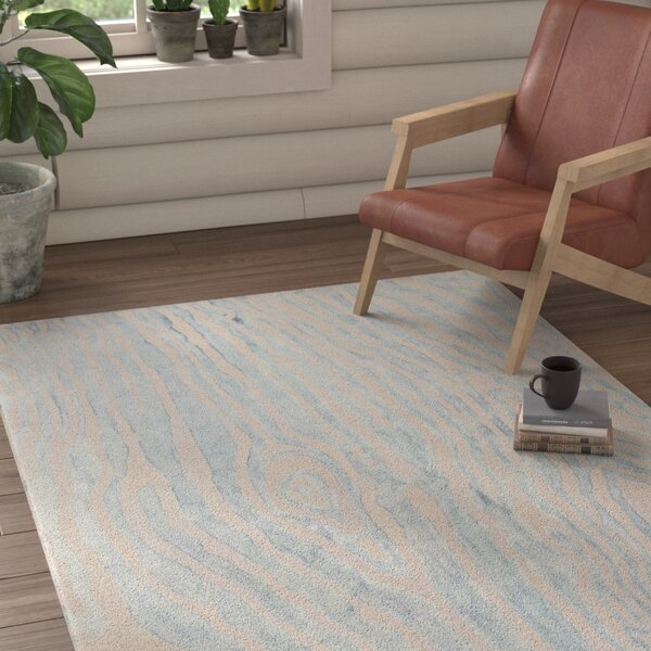 Little Sodbury Hand-Tufted Blue Area Rug by Union Rustic