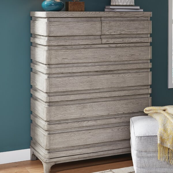 Freitas Wood 6 Drawer Chest by Gracie Oaks