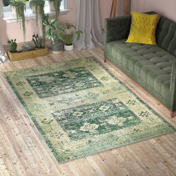 Piland Green Area Rug by Bungalow Rose